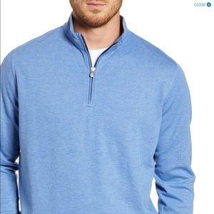 Peter Millar quarter zip pullover sweatshirt